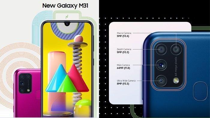 Samsung Galaxy M31 Bakal Hadir di Indonesia 23 Maret 2020, Berikut Spesifikasi dan Harganya