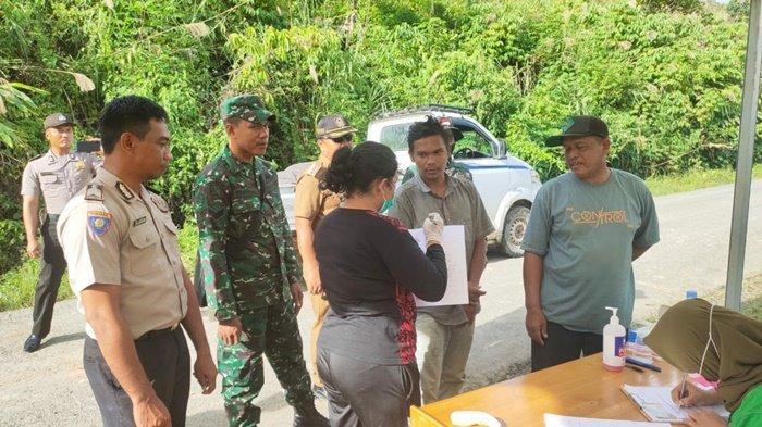 Cegah Virus Corona Merebak, Warga yang Masuk Kabupaten Tanahbumbu Diperiksa di 5 Pos Pintu Masuk