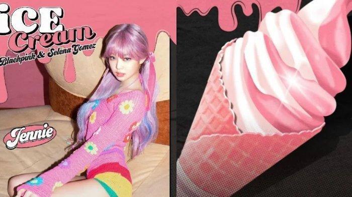 Jennie BLACKPINK Menjelma Bak Barbie, Posternya untuk Single Ice Cream Jadi Trending Twitter
