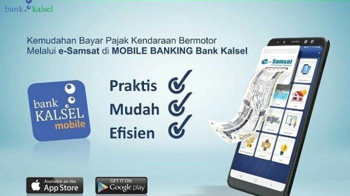 Transaksi Pembayaran Perizinan dan Pembayaran Pajak Pendapatan Bisa Via M-Banking Bank Kalsel