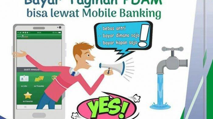 Transaksi Pembayaran Tagihan PDAM dan e-Samsat Bisa Via Mobile Banking Bank Kalsel