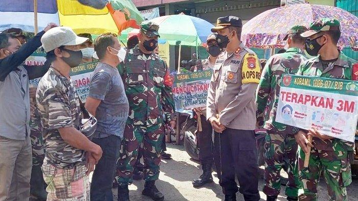 KomandanKodim 1006/Martapura Ajak Forkopimda Terapkan PPKM