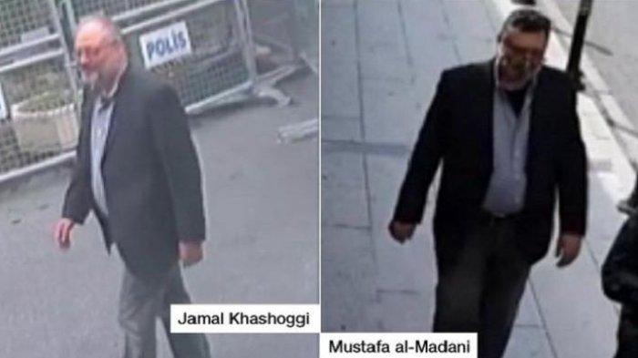Satu dari 15 Pelaku Pembunuh Terekam Menyamar Jadi Jamal Khashoggi di Hari Kejadian