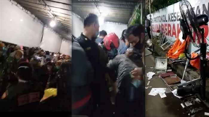 Viral di Medsos: Ricuh Penyekatan di Suramadu Hingga Meja dan Kursi Berhamburan