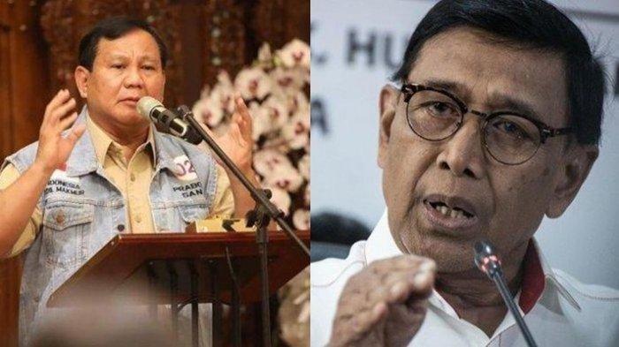 Wiranto Digantikan Prabowo Sebagai Menkopolhukam? Bocoran Kabinet Beredar Jelang Pelantikan Jokowi