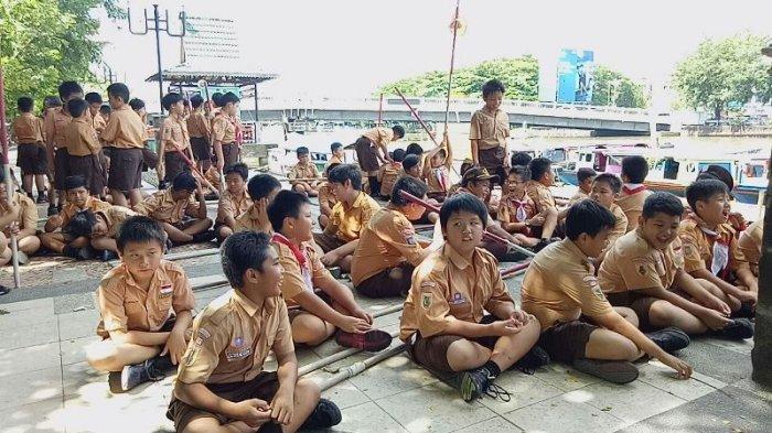 Gambar Kegiatan Anak Sekolah Dasar Serunya Kegiatan Anak Anak Sd Kanaan Banjarmasin Post