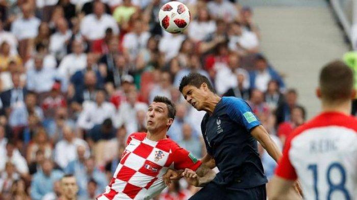 UPDATE GOL Prancis vs Kroasia Final Piala Dunia 2018, Kylian Mbappe Bikin Prancis Unggul 4-1