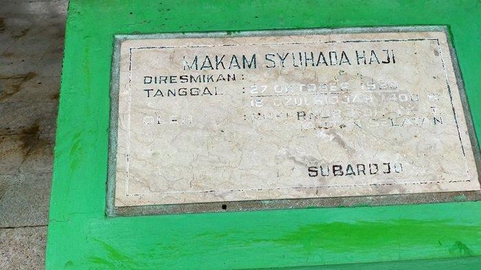 Wisata Religi Taman Makam Syuhada Haji di Banjarbaru, Dikenal Sebagai Tragedi Colombo