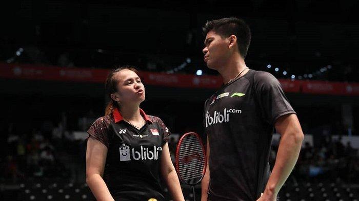 Hasil Thailand Open 2021 : Praveen Jordan/Melati Daeva Kalah dari Non-unggulan asal Prancis