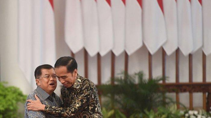 Hari Ini Pelantikan Presiden dan Wakil, 23 Menit Jokowi di Gedung Acara, Wartawan Dilarang Mendekat