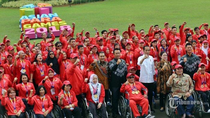 Puan Maharani Terharu dan Bahagia Kontingen Indonesia Lampaui Target di Asian Para Games 2018,