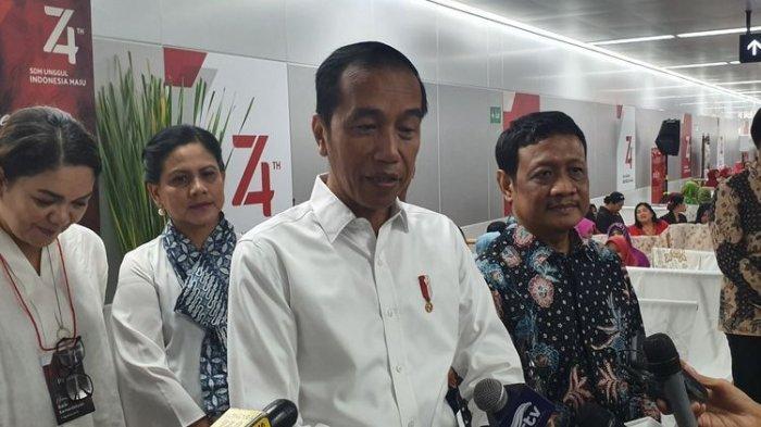 Jokowi Minta Pelantikan Dipercepat dari Jadwal, Moeldoko Sebut Ada Oknum Mau Hambat Pelantikan