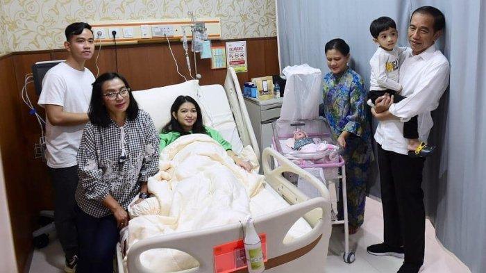 Arti Nama Cucu Presiden Jokowi La Lembah Manah,  Adik Perempuan Jan Ethes