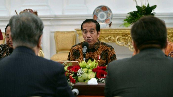 Sering Nonton Pertandingan Piala Dunia 2018, Jokowi Hanya Tidur Satu Jam