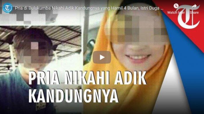 Suami Menikahi Adik Kandungnya di Kalimantan Diduga Selingkuh, Istri Sah Tahu dari Video