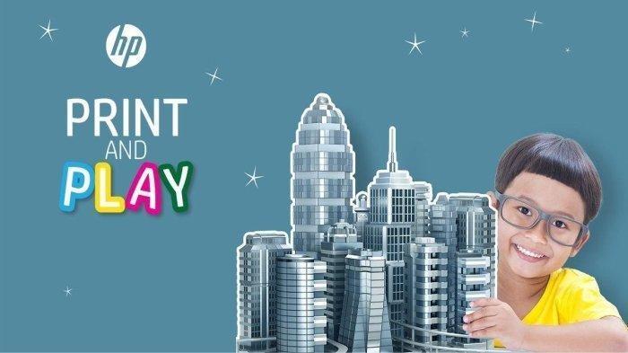 Membuat Anak-anak Tetap Terhibur di Rumah dengan Ide Kreatif Print & Play dari HP Inc.
