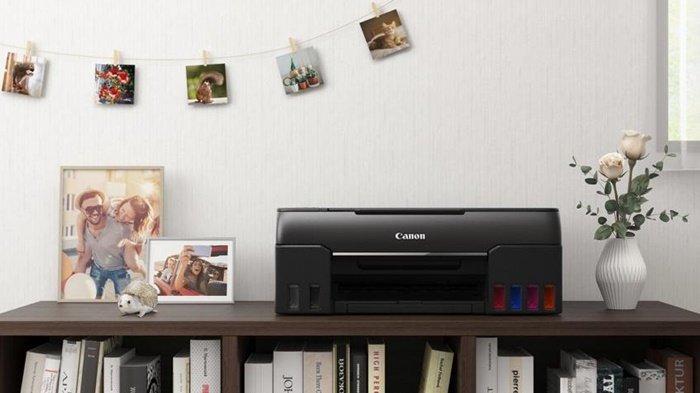 Printer seri G merupakan tipe printer dari Canon dengan sistem tangki tinta yang dapat diisi ulang.