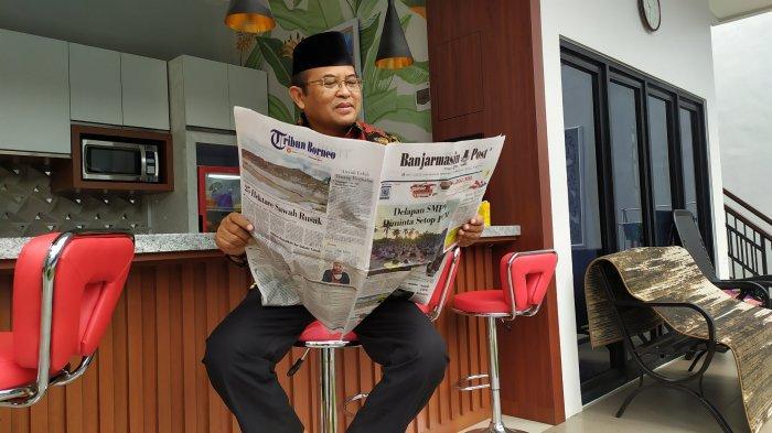 KalselPedia - Profil Rektor Universitas Lambung Mangkurat Prof Sutarto Hadi