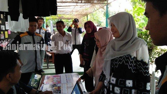 Perlancar Visitasi Sekolah Kejuruan di Kabupaten Banjar, Ini yang Dilakukan SMKN 1 Martapura