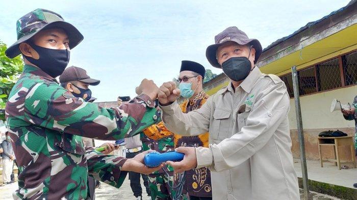 LLDIKTI XI Kalimantan dan Baznas Kalsel Bangun 18 Unit Huntara, Gandeng Korem 101 dan Pemkab HST