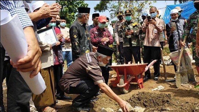 PTS Se-Kalimantan Bantu Bangun Langgar Noorhidayah Desa Alat HST, Target Selesai Tiga Bulan