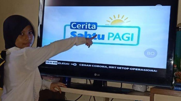Tak Ada Soal dan Jawaban, Inilah Jadwal Belajar dari Rumah TVRI Weekend Sabtu & Minggu
