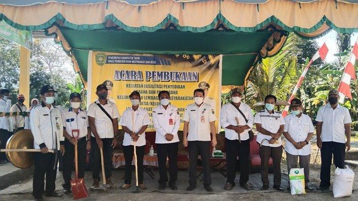 Program Padat Karya Tunai di Tapin Resmi Dimulai, Berlangsung di 24 Desa