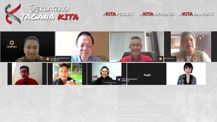 Ikut Deklarasikan Program TAGANA KITA, Bold Riders Banjarmasin Berharap Kolaborasi Semakin Kuat