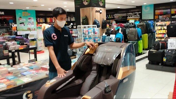 Diskon 50 Persen, Harga Kursi Pijat di Gramedia Q Mall Kini Dibanderol Rp 48 juta