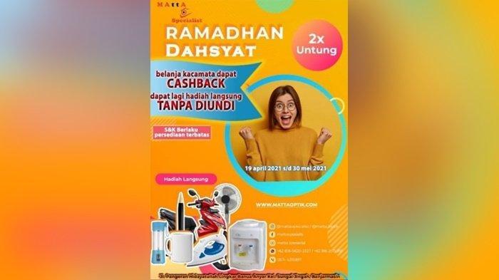 Promo di Matta Specialist, Jalan Pangeran Hidayatullah RT 14, Kota Banjarmasin, Kalimantan Selatan.