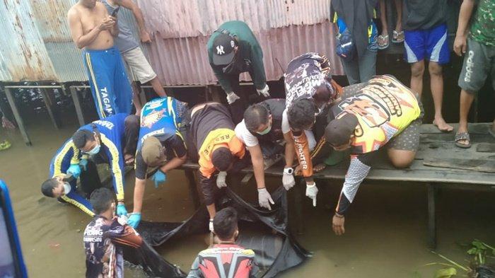 Ditemukan Mengapung di Sungai Martapura Banjarmasin, Jasad Mr X  Ini Sempat Dikira Gumpalan Kapuk