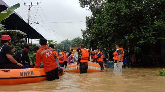 Presiden Jokowi Perintahkan Kirim Bantuan ke Kalsel, Besok Panglima TNI dan Basarnas Tinjau Banjir