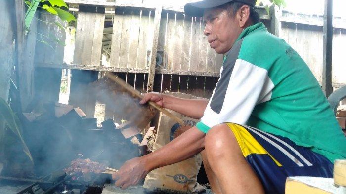 Kuliner Kalsel, Sate Kambing Warung Bu Suman di Karangbintang Tanbu, Hanya Tersedia Tiap Selasa