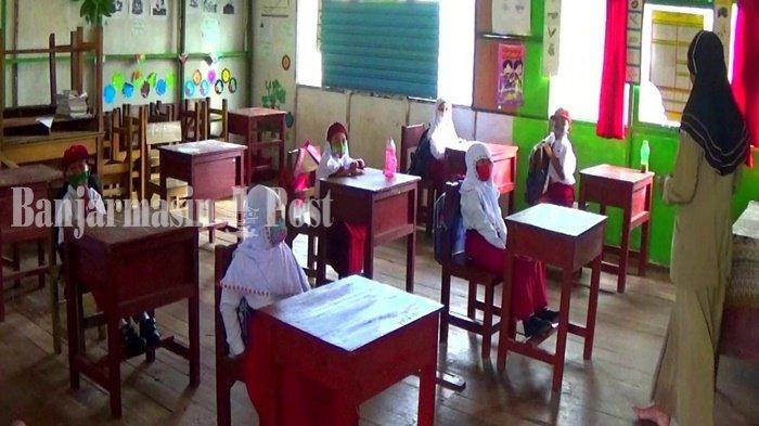 Vaksin Guru Belum Selesai, SD di Banjarbaru Belum Menyelenggarakan Sekolah Tatap Muka