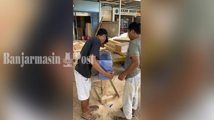 Kayu Olahan Talenan Ulin dari Kalsel Diekspor ke Singapura