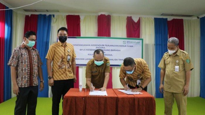 Jalin Kerjasama dengan BPJS Cabang Barabai, RSUD Datu Sanggul Tapin Kini Layani Pasien Cuci Darah
