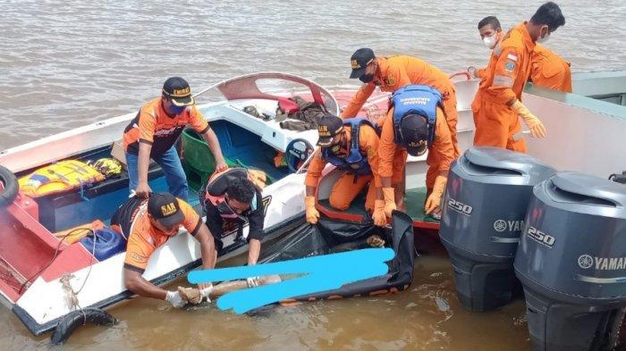 Satu Mayat Penumpang Truk yang Hilang di Pelabuhan Trisakti Banjarmasin Akhirnya Ditemukan