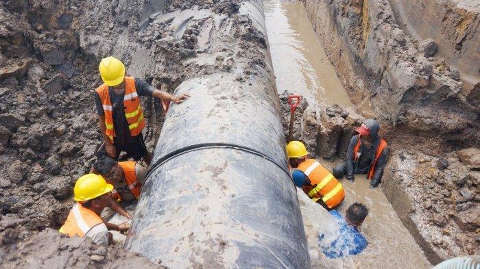 PDAM Bandarmasih Kurangi distribusi Air, Dua Usaha ini Terpaksa Harus Andalkan Air Cadangan