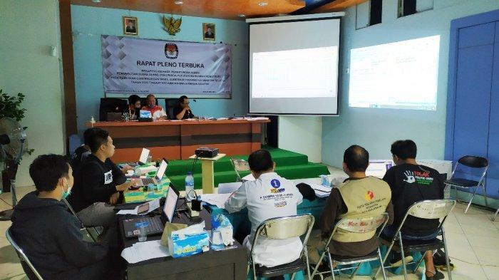 Ini Hasil Rekapitulasi PSU Pilgub Kalsel Banjarmasin Selatan