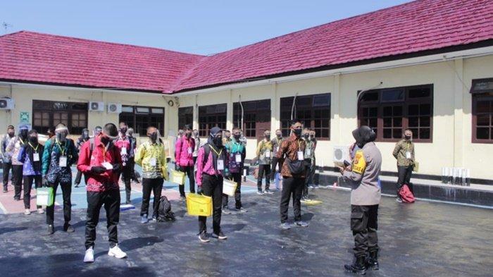 Polres Banjar Lakukan Seleksi Awal Penerimaan Calon Bintara Tahun 2020