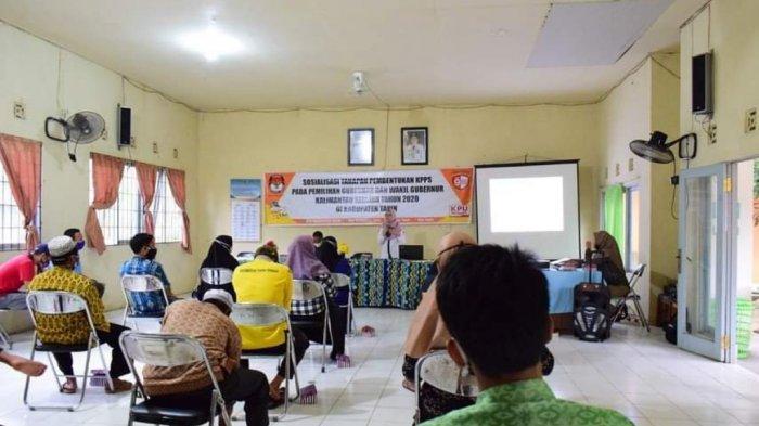 Pemungutan Suara Ulang Kecamatan Binuang, KPU Tapin Buka Pendaftaran PPK Hari Ini