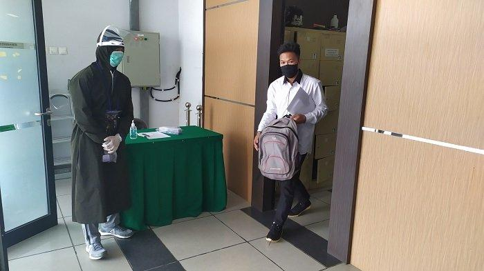 UTBK SBMPTN Universitas Indonesia, Pengantar Peserta Dilarang Menunggu