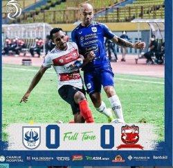PSIS Semarang vs Madura United sama sama berbagi angka pada pekan kelima Liga 1 2021-2022.