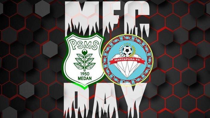Live Streaming PSMS Medan vs Martapura FC di TV One & TV Online Vidio.com 8 Besar Liga 2 2019
