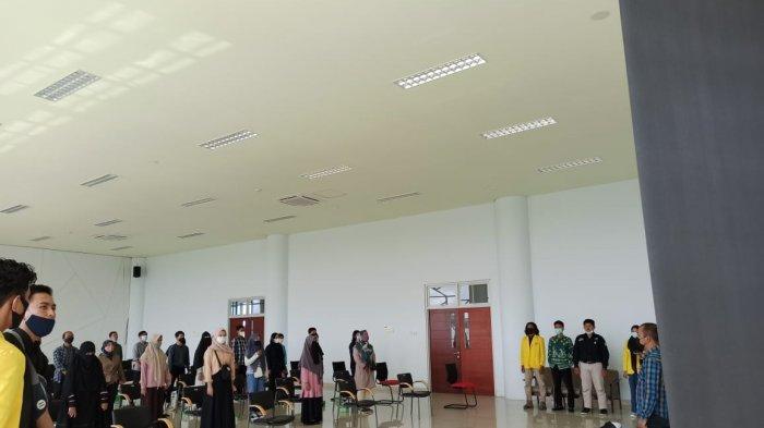 Bersiap Mengawasi Pelaksanaan PSU, BEM ULM Jalani Pembekalan