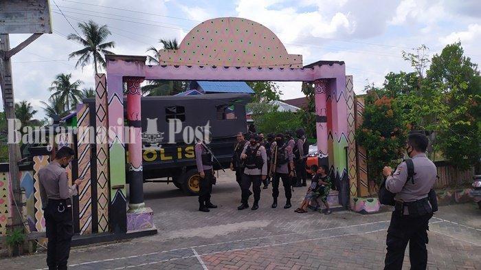 Pilkada Kalsel 2020, H-1 PSU, Tiga Kelurahan di Banjarmasin Selatan Didatangi Polisi