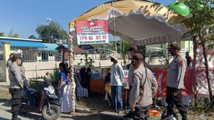 PSU Pilgub Kalsel 2020, Kapolresta Banjarmasin Pantau Pemilu di Banjarmasin Selatan