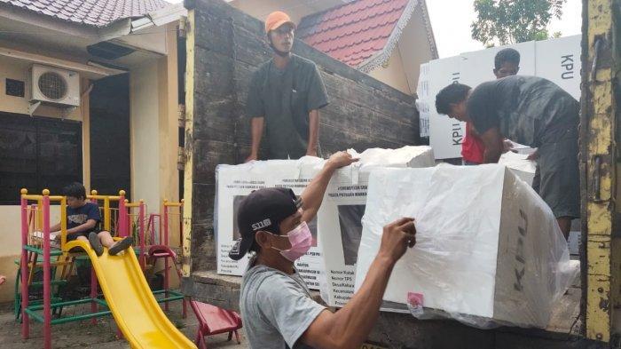 PSU Pilgub Kalsel 2020 , Besok Rekapitulasi Surat Suara di Kecamatan Banjarmasin Selatan