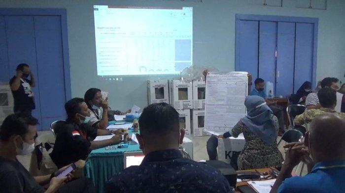 PSU Pilgub Kalsel 2020, Hari Kedua Rekapitulasi di Banjarmasin Selatan Sempat Diwarnai Protes