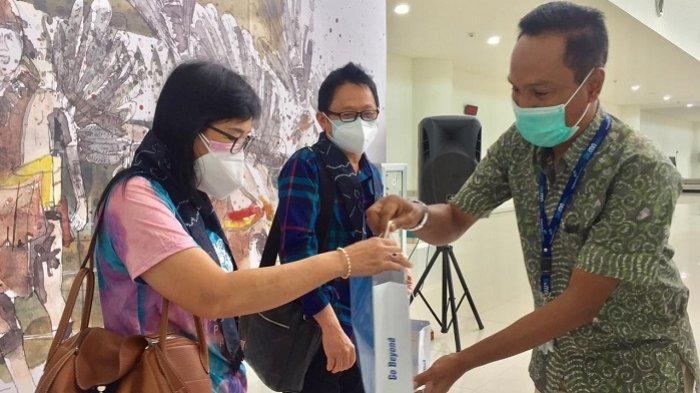 Rapid Test Antigen di Bandara Syamsudin Noor Diterapkan, Traffic Penumpang Tak Terpengaruh
